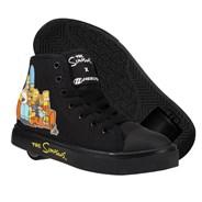 Heelys X Simpsons Hustle Black Kids Heely Shoe
