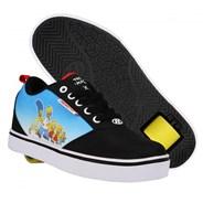 Heelys X Simpsons Pro 20 Prints Black/Cyan/Multi Kids Heely Shoe