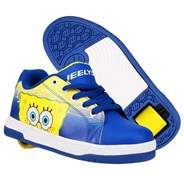 Heelys X Spongebob Split Blue/Yellow/White/Multi Kids Heely Shoe
