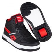 Heelys X Reebok Black/Vector Red/White Kids Heely Shoe