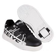 Splint Black/White Kids Heely Shoe