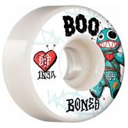 Boo Voodoo STF 103A V4 Wide 55mm White Skateboard Wheels