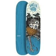 Amelia Brodka Baba Yaga 8.5 x 32.25Inch Skateboard Deck - Teal