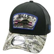 NFL On Field 2021 Salute To Service 940 Trucker - Buffalo Bills