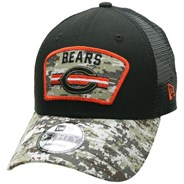 NFL On Field 2021 Salute To Service 940 Trucker - Chicago Bears
