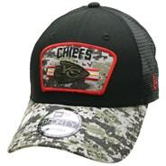 NFL On Field 2021 Salute To Service 940 Trucker - Kansas City Chiefs