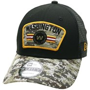 NFL On Field 2021 Salute To Service 940 Trucker - Washington Football Team