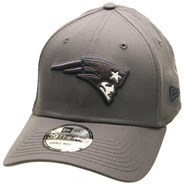 Grey Pop 39THIRTY Cap - New England Patriots