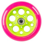 Zycom 125mm front wheel - Pink/Lime