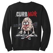 Curb Killer Crew Sweatshirt - Black