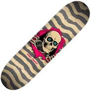 Peralta Ripper #243 8.25inch Skateboard Deck - Natural/Gray