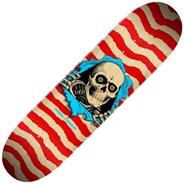 Peralta Ripper #244 8.5inch Skateboard Deck - Natural/Red