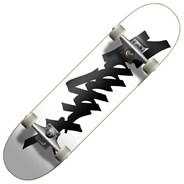 OG 95 Tag 8inch Complete Skateboard - White/Black