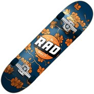 Cherry Blossom Dude Crew 7.5inch Complete Skateboard - Navy/Orange