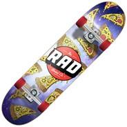 Pizza Galaxy Dude Crew 7.5inch Complete Skateboard