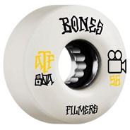 Filmers ATF 56mm 80A White Skateboard Wheels