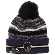 NFL Sideline Knit 2021 Home Game Beanie - Baltimore Ravens