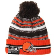 NFL Sideline Knit 2021 Home Game Beanie - Cleveland Browns