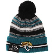 NFL Sideline Knit 2021 Home Game Beanie - Jacksonville Jaguars