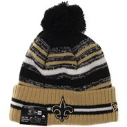 NFL Sideline Knit 2021 Home Game Beanie - New Orleans Saints