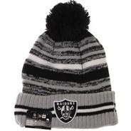 NFL Sideline Knit 2021 Home Game Beanie - Las Vegas Raiders