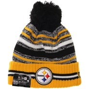 NFL Sideline Knit 2021 Home Game Beanie - Pittsburgh Steelers