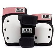 RIO600 Ramp Triple Pad Set - Black/Rose