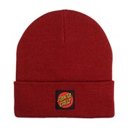 Classic Label Dot Beanie - Ketchup