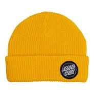 Outline Dot Beanie - Yellow