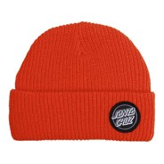 Outline Dot Beanie - Red