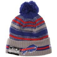 NFL Sideline Knit 2021 Grey Beanie - Buffalo Bills