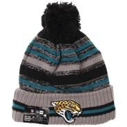 NFL Sideline Knit 2021 Grey Beanie - Jacksonville Jaguars