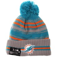 NFL Sideline Knit 2021 Grey Beanie - Miami Dolphins