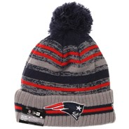 NFL Sideline Knit 2021 Grey Beanie - New England Patriots