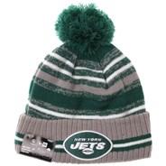 NFL Sideline Knit 2021 Grey Beanie - New York Jets