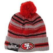 NFL Sideline Knit 2021 Grey Beanie - San Francisco 49ers