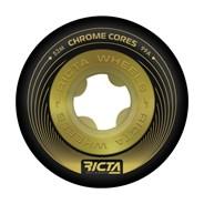 Chrome Core 53mm 99A Black/Gold Wheel