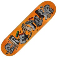 Slaab DIY 8.25inch Skateboard Deck - Orange
