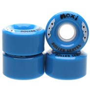Rainbow Rider 58mm/82a Roller Skate Wheels - Blue