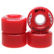 Rainbow Rider 58mm/82a Roller Skate Wheels - Red