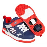 Dual Up Navy/Red/Grey Kids Heely X2 Shoe