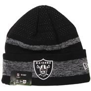 NFL Sideline Tech Knit 2021 Beanie - Las Vegas Raiders