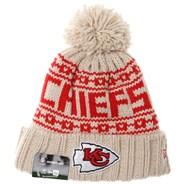 NFL Sideline Knit 2021 Womens Beanie - Kansas City Chiefs