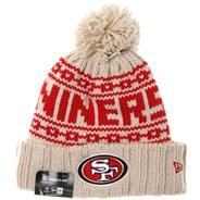 NFL Sideline Knit 2021 Womens Beanie - San Francisco 49ers
