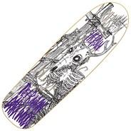 DMODW Skeletal White 9.25inch Skateboard Deck