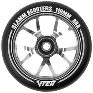 V-Ten II 110mm Alloy Core Scooter Wheel and Bearings - Titanium