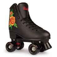 Rosa Quad Roller Skates - Black/Multi