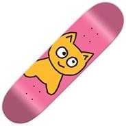 Big Cat Pink 7.25inch Skateboard Deck