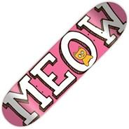 Logo Pink 7.75inch Skateboard Deck