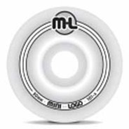 Mini Logo Wheel - White